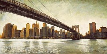 Brooklyn Bridge View  Fine-Art Print