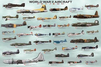 World War II Aircraft  Fine-Art Print