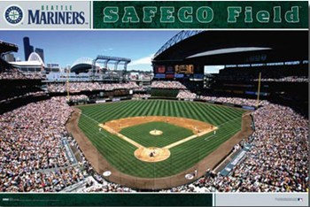 Seattle Mariners - Safeco Field  Wall Poster