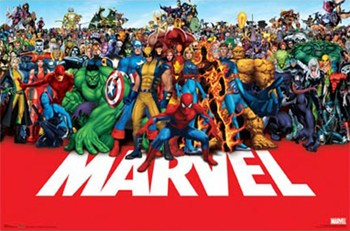 Marvel - Heroes  Wall Poster