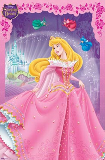 Sleeping Beauty  Wall Poster