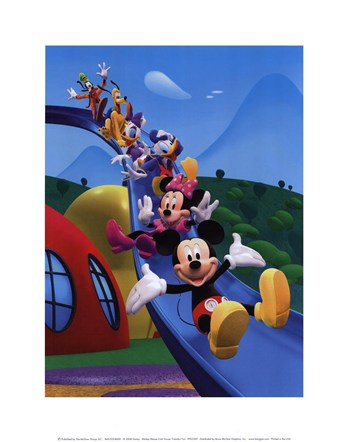 Mickey Mouse Clubhouse  Fine-Art Print