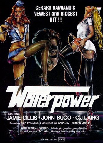 Vintage Erotic Movie Art prints. Waterpower ~ Fine-Art Print