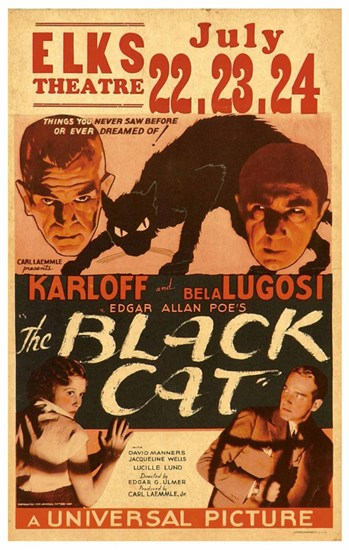 The Black Cat, c.1934  Fine-Art Print