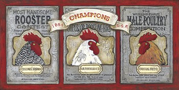 Robust Roosters  Fine-Art Print