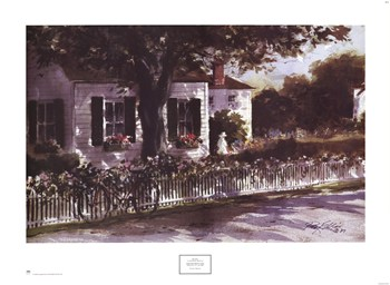 Ray Ellis - Edgartown Lane Size 23x31  Fine-Art Print