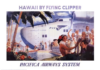 Honolulu Clipper  Fine-Art Print