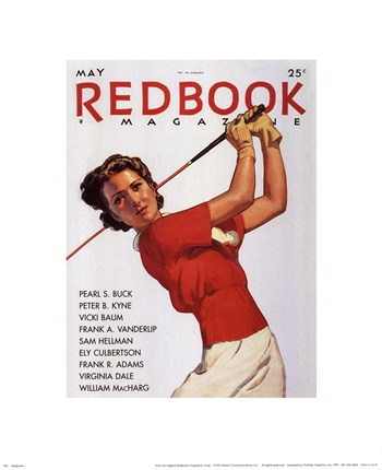 Hearst - Redbook I, May 1935 Size 15x12  Fine-Art Print