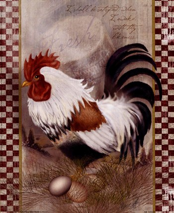Coat Of Many Colors Rooster  Fine-Art Print