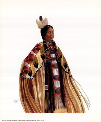 Native American Female Dancer