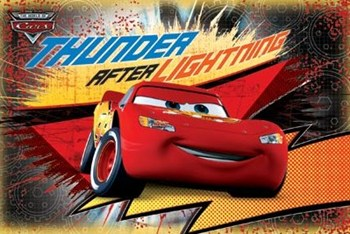 Cars - Thunder After Lightning  Wall Poster