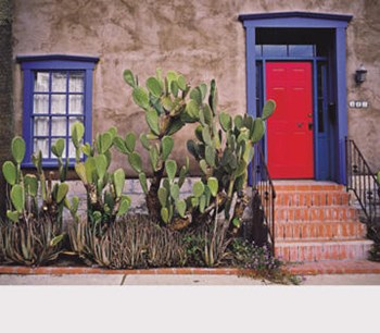 The Red Door  Fine-Art Print