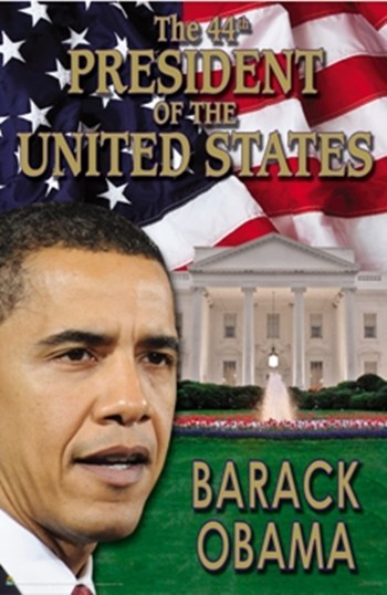 Barack Obama - 44th President of the US  Wall Poster