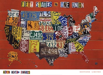 Fifty States, One Nation  Fine-Art Print
