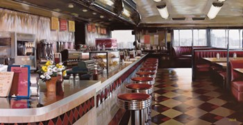 New York Diner  Fine-Art Print