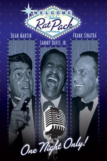 Rat Pack - One Night Only  Wall Poster