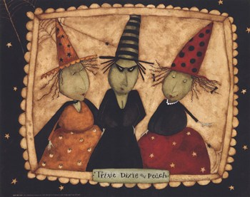 3 witches  Fine-Art Print