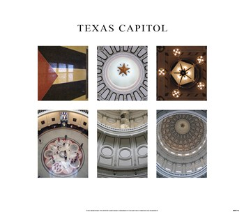 Texas Capitol 6 Views  Fine-Art Print