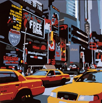 Cabs of New-York  Fine-Art Print