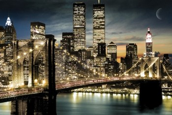 New York City Lights  Wall Poster