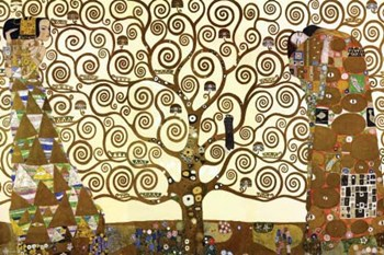 Tree of Life, c.1909  Wall Poster