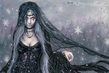 Winter Goth  Wall Poster