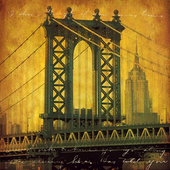 New York Romance  Fine-Art Print