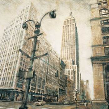 Empire State Building from Madison Ave.  Fine-Art Print