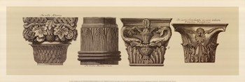 Capitals I, (The Vatican Collection)  Fine-Art Print