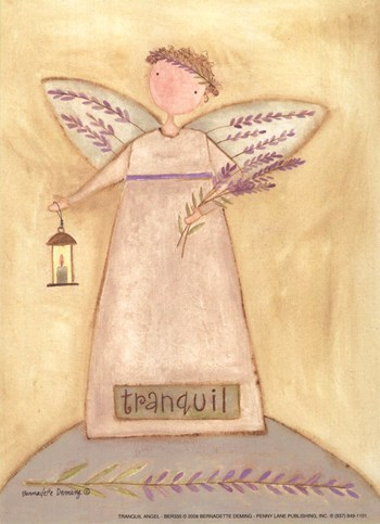 Tranquil Angel  Fine-Art Print
