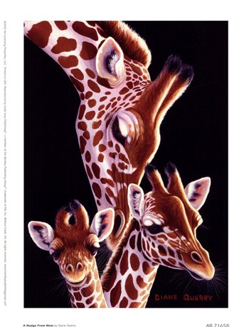 A Nudge From Mom  Fine-Art Print