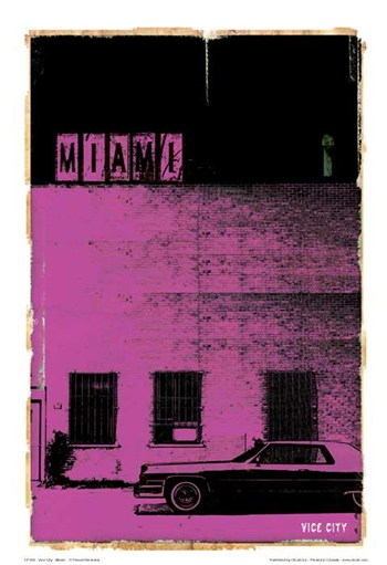 Vice City - Miami  Fine-Art Print