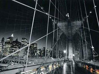 Brooklyn Bridge Tower and Cables  Fine-Art Print