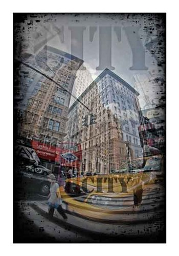 Urban City I  Fine-Art Print
