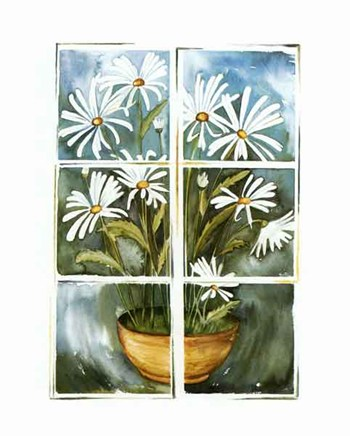 Flowers at the Window  Fine-Art Print