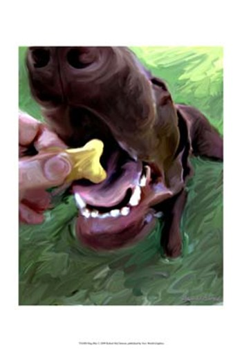 Dog Bite  Fine-Art Print