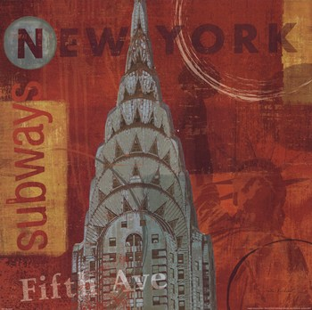 Big Apple I  Fine-Art Print