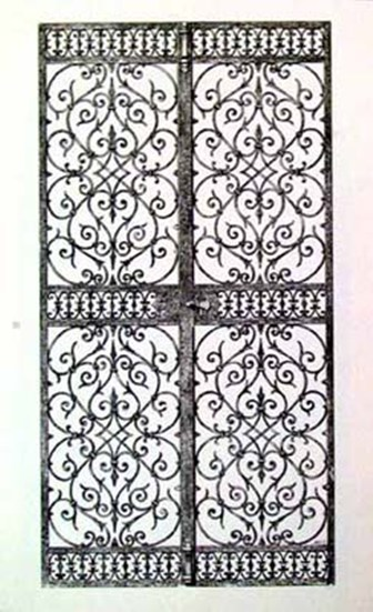 Wrought Iron Gate VIII  Fine-Art Print