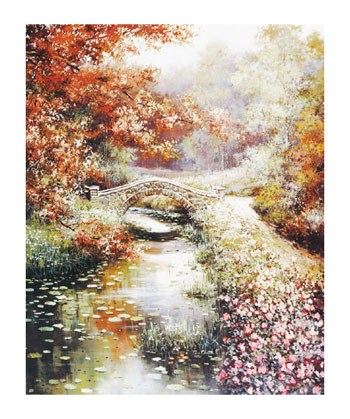 Stone Footbridge  Fine-Art Print