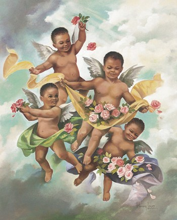 Black Cherubs  Fine-Art Print