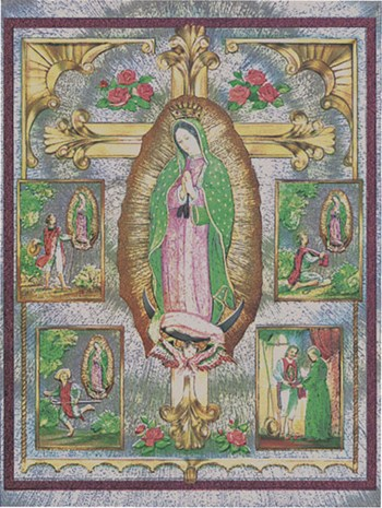 Vision of Lady of Guadalupe  Fine-Art Print
