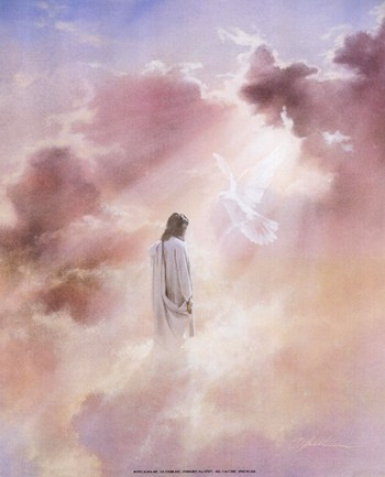 Christ in Clouds  Fine-Art Print