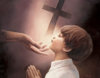 Boy's Prayer  Fine-Art Print