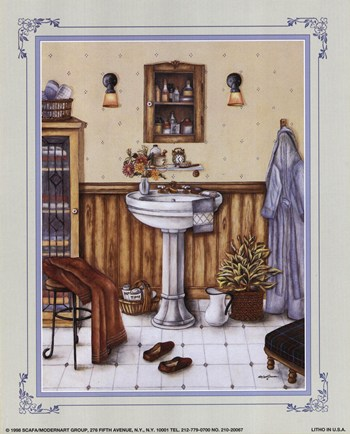 his bathroom fine art print bathrooms art prints and posters
