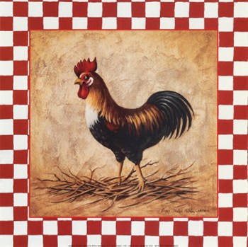 Country Rooster  Fine-Art Print