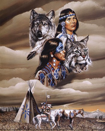 Spirit of the Tribe  Fine-Art Print
