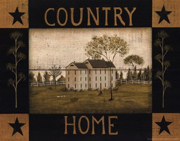 Country Home  Fine-Art Print