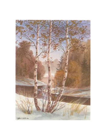 A Winterday II  Fine-Art Print