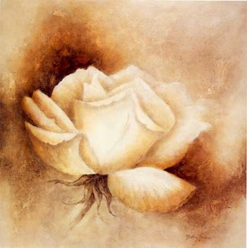 White Rose I  Fine-Art Print