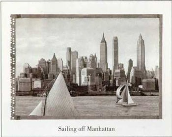 Sailing off Manhattan  Fine-Art Print